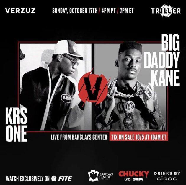 Verzuz: KRS-One vs Big Daddy Kane